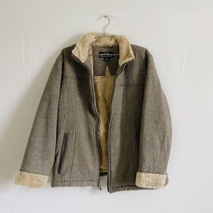 Woolrich fleece lined jacket